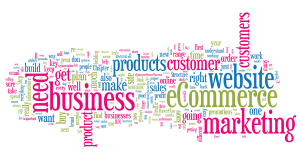eCommerce MasterPlan 1.8 Word Cloud