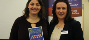 Chloe and Helena at Croydon Business Wealth Club