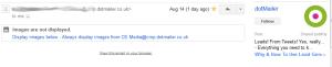 email domain name googleplus fail