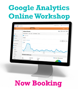 Google Analytics Workshops Now Booking