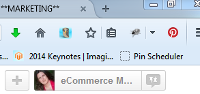 Pinterest pinning buttons in browser