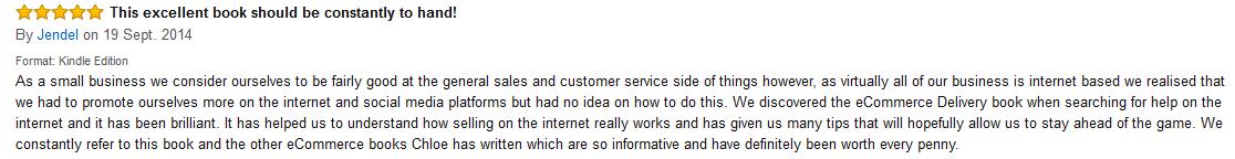 eCD amazon review
