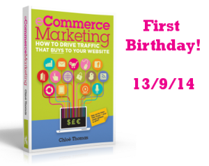 eCommerce Marketing 1 year old