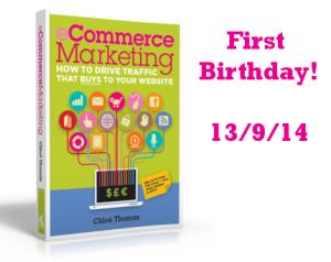 eCommerce Marketing – 1 Year Since Publication!