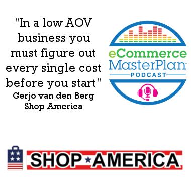 Gerjo van den Berg of Shop America