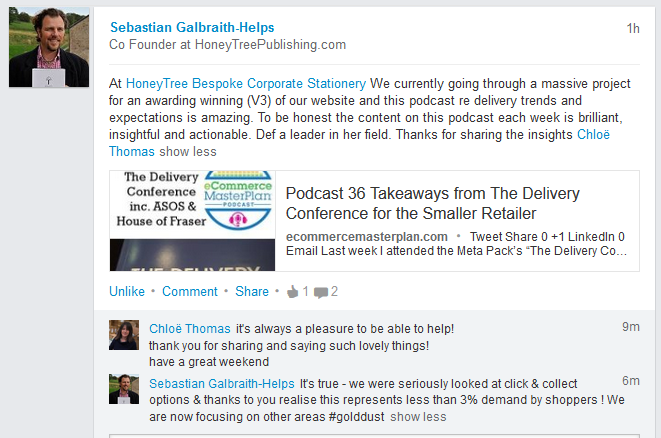 podcast 36 comments on LinkedIn