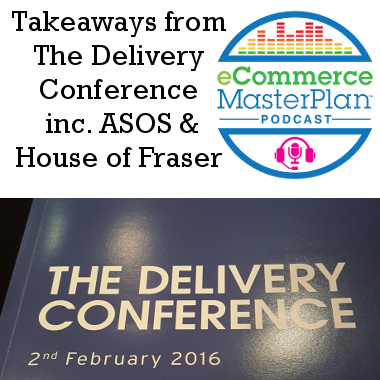 the delivery conference takeaways