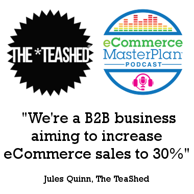 Podcast 46 The TeaShed's Jules Quinn