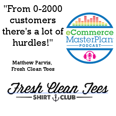 Matthew Parvis of Fresh Clean Tees