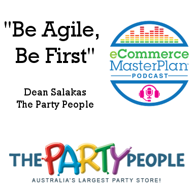 Dean Salakas of The Party People