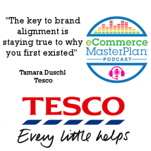 Tamara Duschl of Tesco