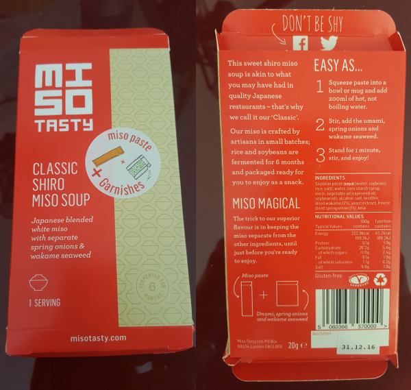 miso tasty packaging