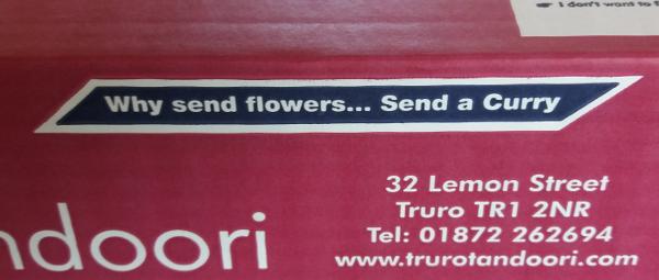 truro tandoori send a curry