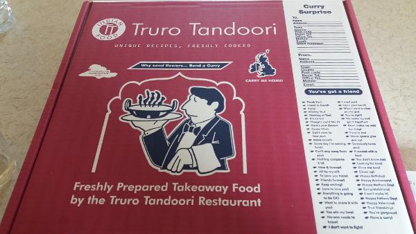 truro tandoori takeaway box