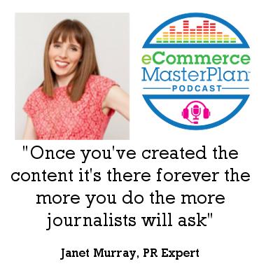 Janet Murray - PR Expert