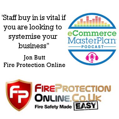 Jon Butt of Fire Protection Online