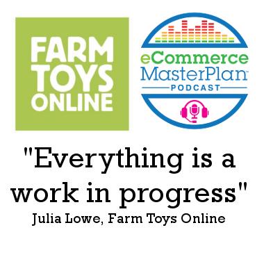 Julia Lowe of Farm Toys Online
