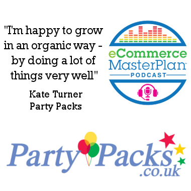 Kate Turner of Party Packs