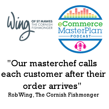 Rob Wing of The Cornish Fishmonger