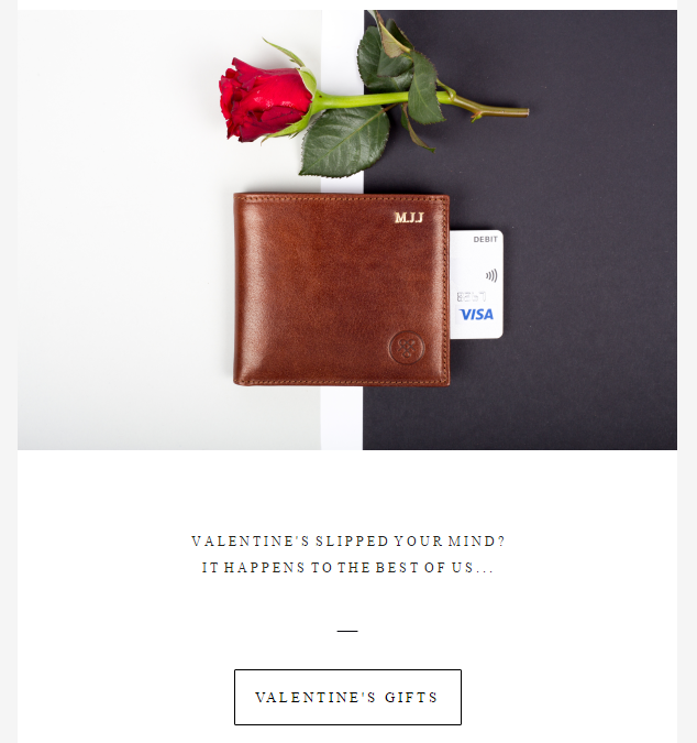 maxwell scott bags valentines email