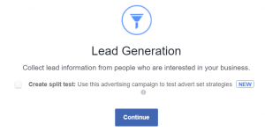 lead generation ad logo