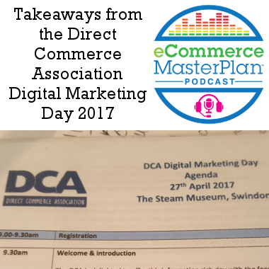 direct commerce association digital marketing day podcast