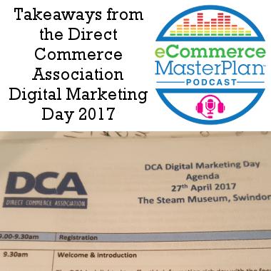 direct commerce association digital marketing day podcast