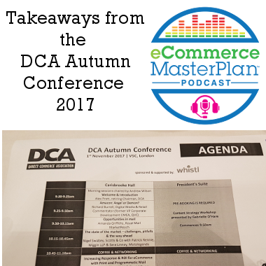dca autumn conference
