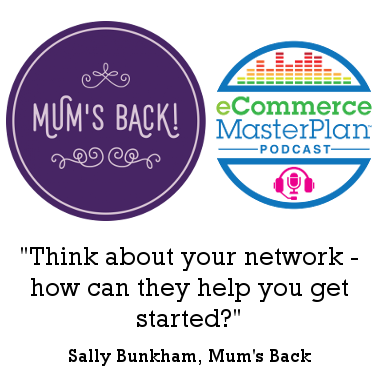 mum's back podcast
