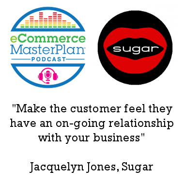 Podcast 149 Sugar's Jacquelyn Jones on the power of a well-worked out Mission