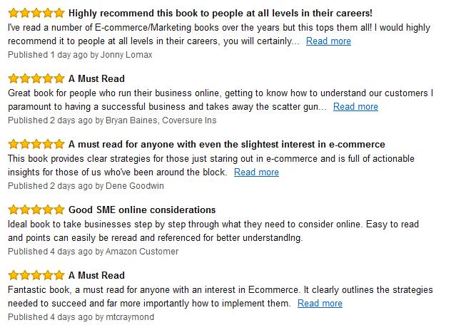 Amazon reviews grab
