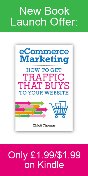 eCommerce Marketing by Chloe Thomas Launch Offer