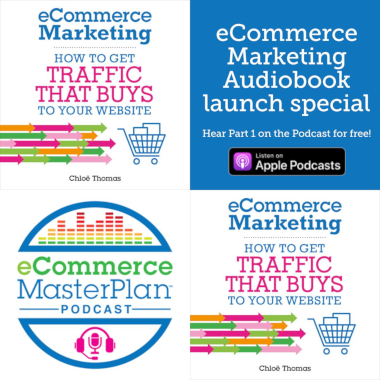 ecommerce marketing audiobook launched on the podcast