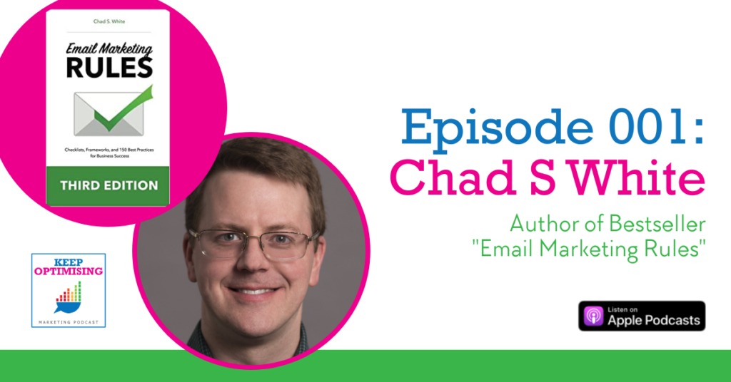 chad s white email marketing rules podcast