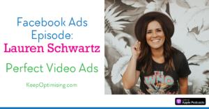 Lauren Schwartz facebook video ads