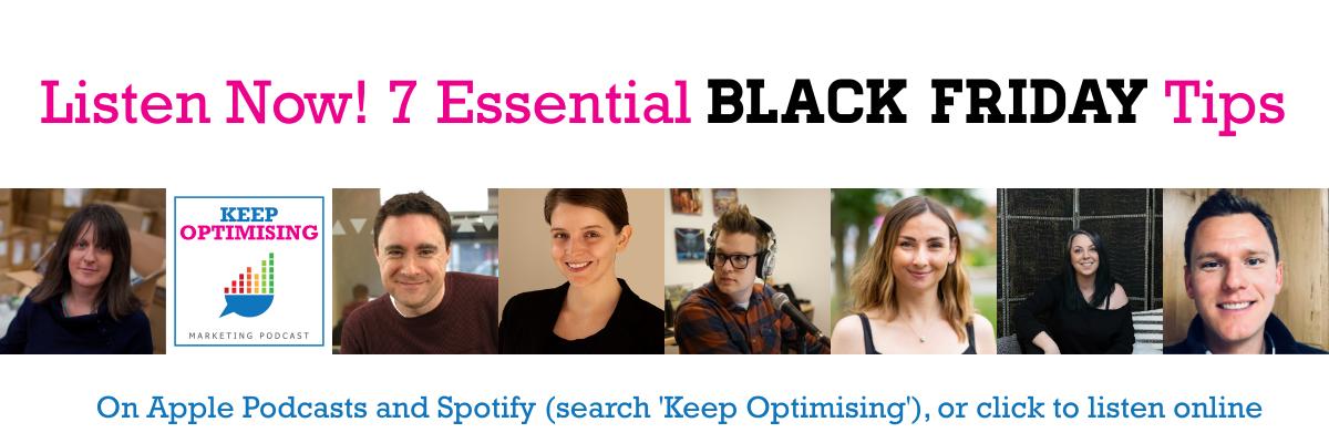 black friday top tips podcast episode